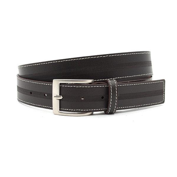 JV Belts Donker bruine heren riem