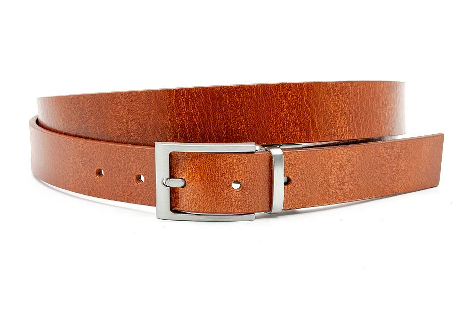 JV Belts Cognac kleurige unisex riem