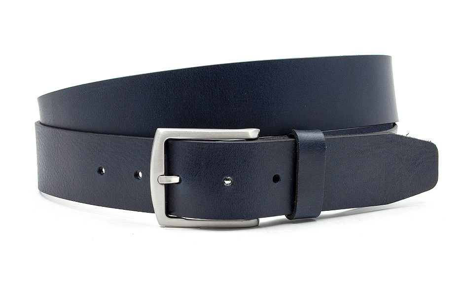 Thimbly Belts Luxe jeans riem blauw