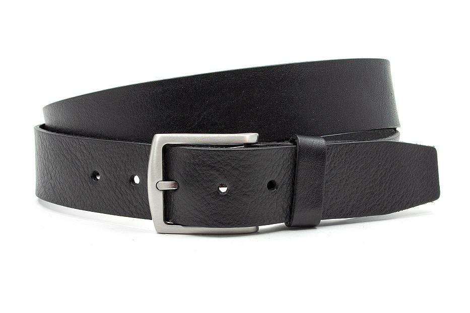 Thimbly Belts Stoere jeans riem zwart