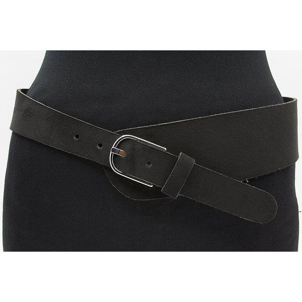 Thimbly Belts Zwarte brede afhangriem