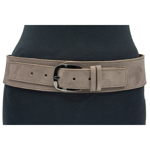 Thimbly Belts Brede heupceintuur taupe