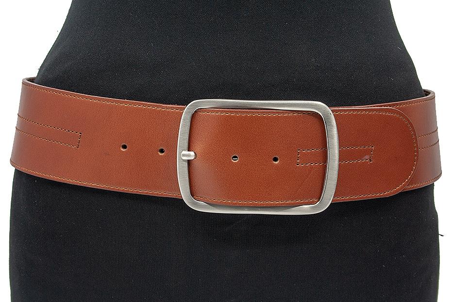 JV Belts Brede heupceintuur cognac