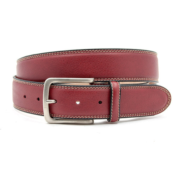JV Belts Sportieve rode pantalon riem