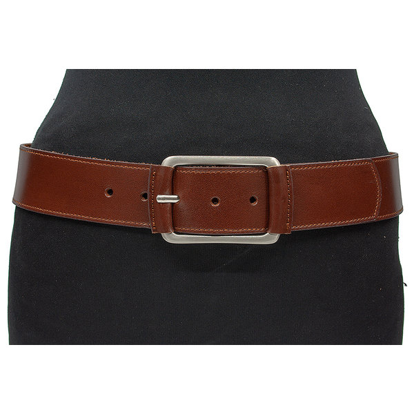 JV Belts Dames heupriem rood bruin