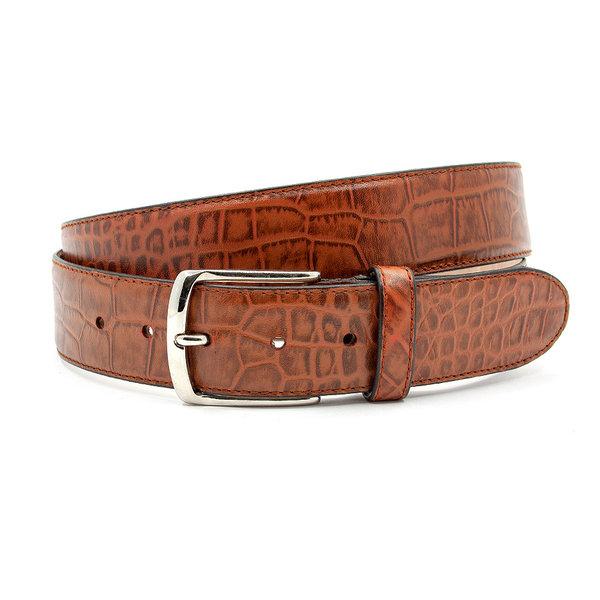 JV Belts Chique cognac jeans riem