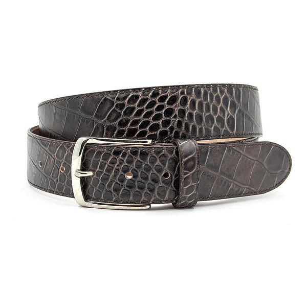 JV Belts Nette jeans riem donkerbruin