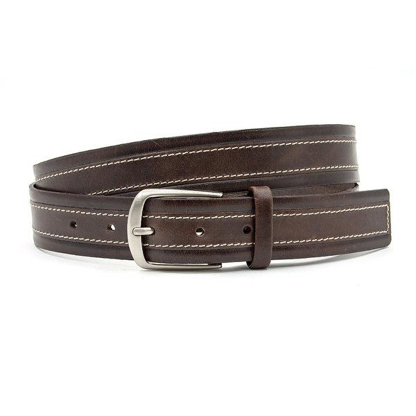 JV Belts Donkerbruine pantalonriem