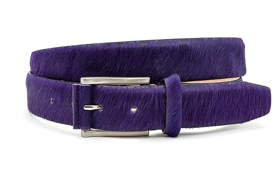 JV Belts Paarse hair-on riem