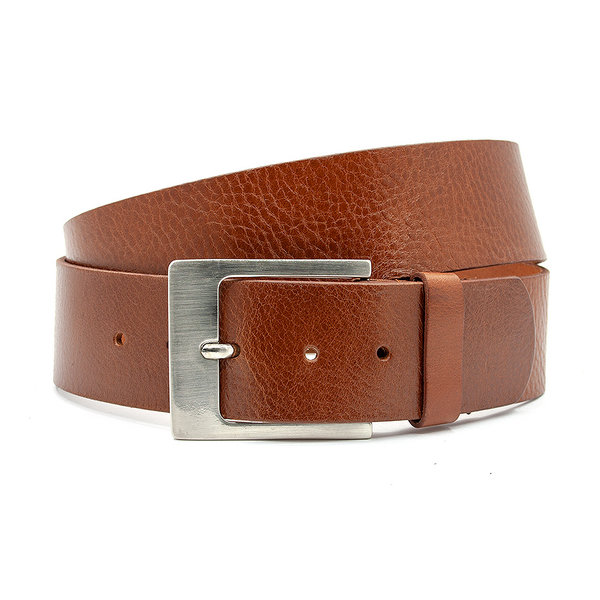 Thimbly Belts Dames heup riem donker cognac