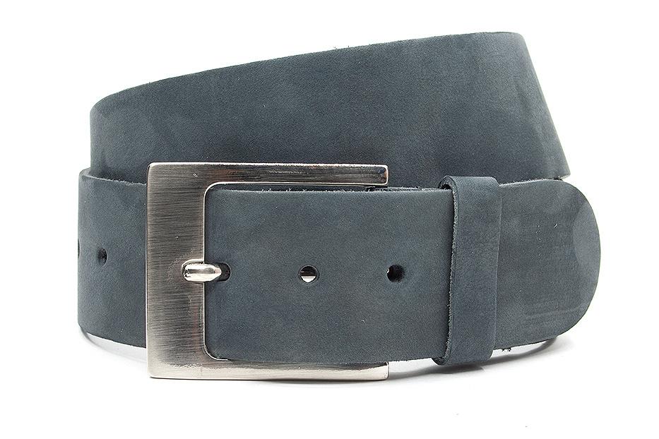 Thimbly Belts Dames riem grijs nubuck