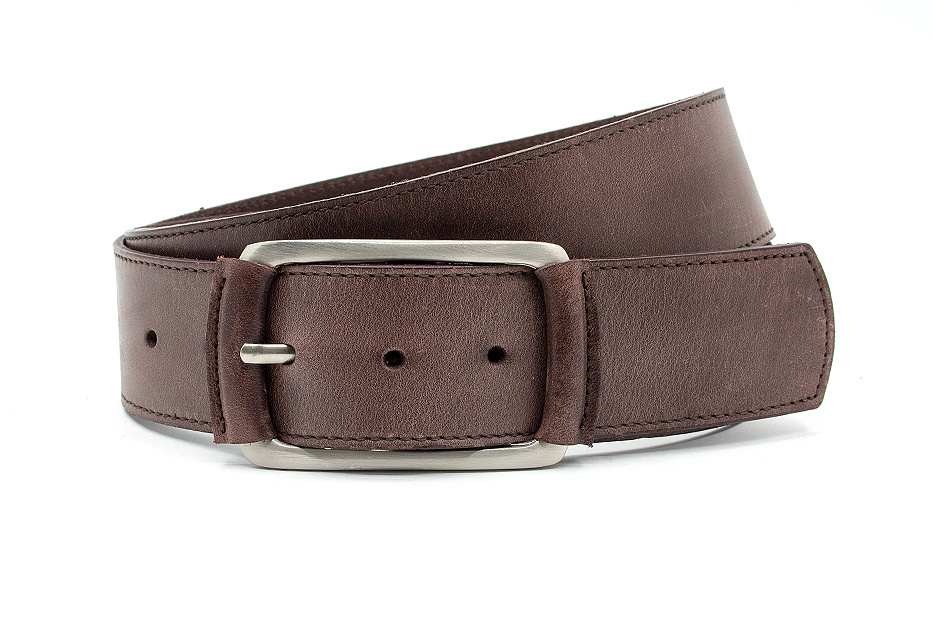 Thimbly Belts Donkere taupe heupriem