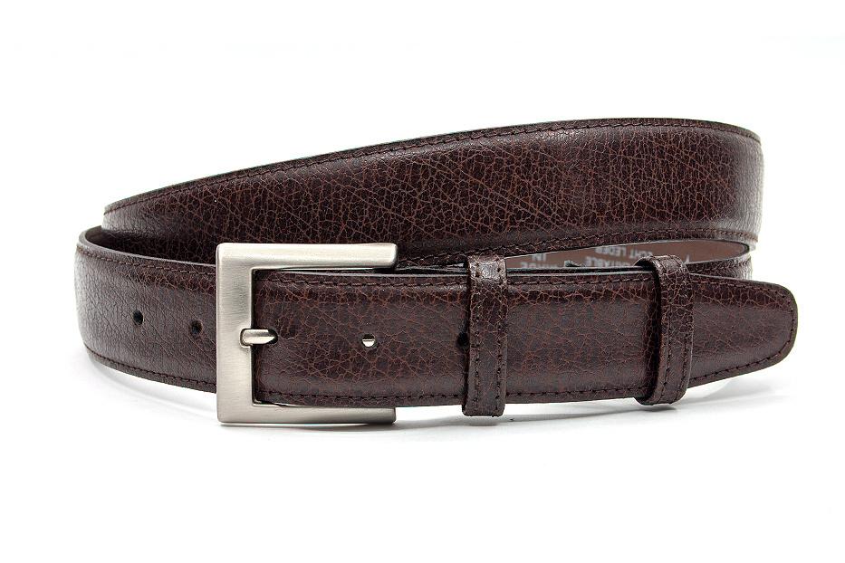 JV Belts Bruine riem met rits