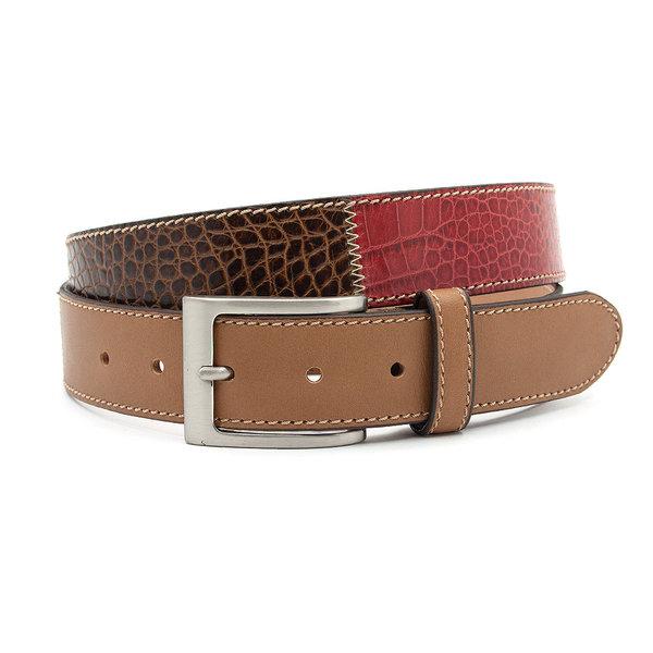 JV Belts Heren riem patchwork