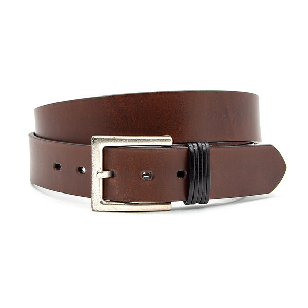JV Belts Heren-damesriem bruin