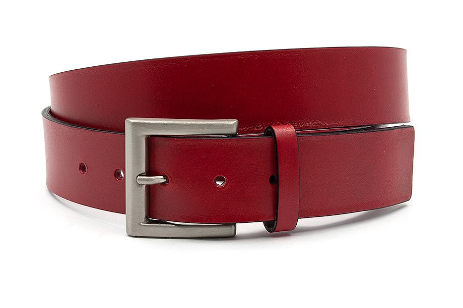 JV Belts Jeansriem rood
