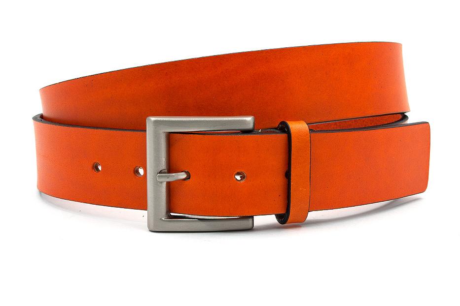 JV Belts Jeansriem oranje