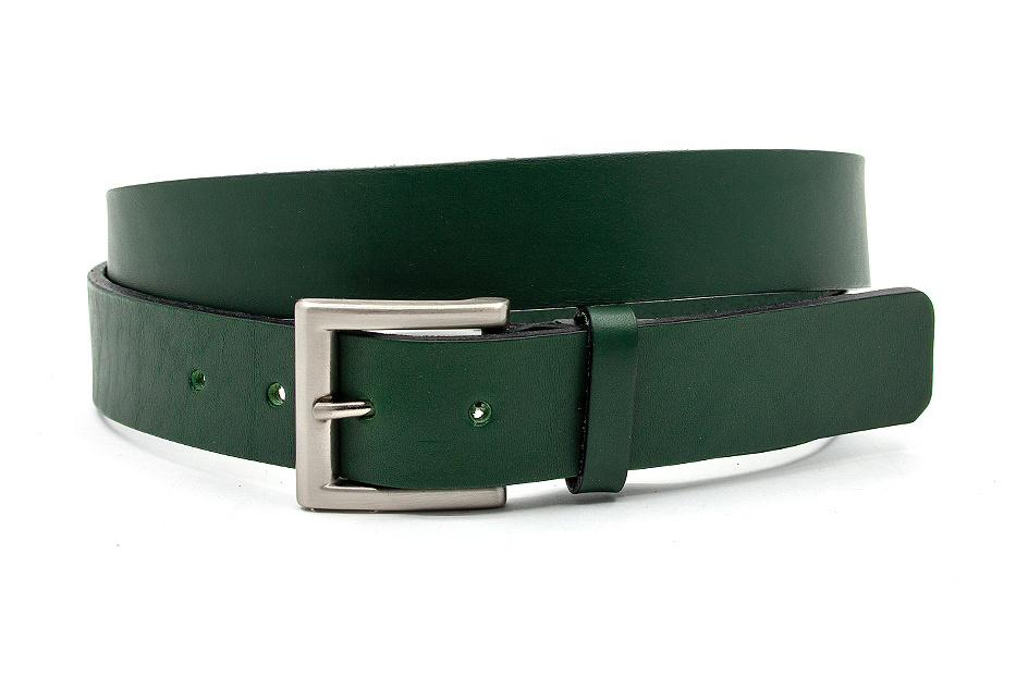 JV Belts Sportieve groene jeansriem