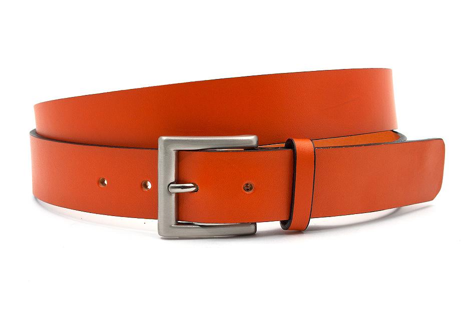 JV Belts Sportieve oranje jeansriem