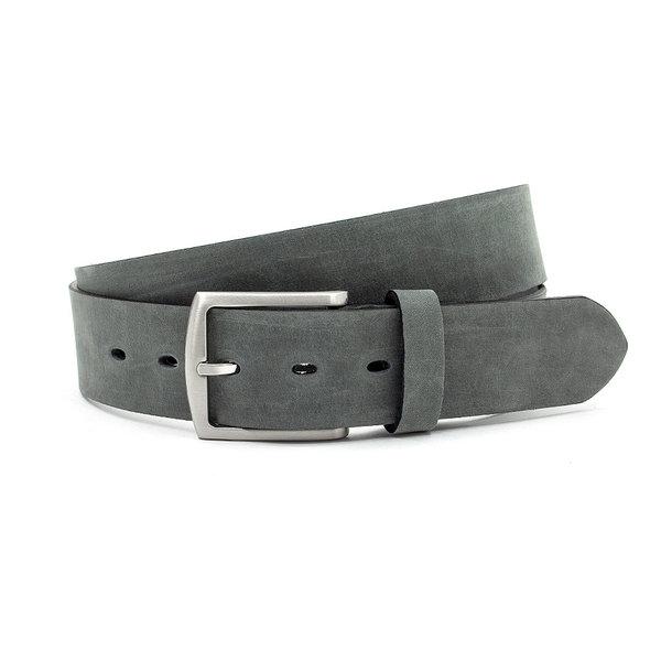 JV Belts Stoere jeans riem grijs