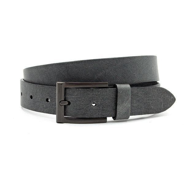 Thimbly Belts Leren kinderriem grijs