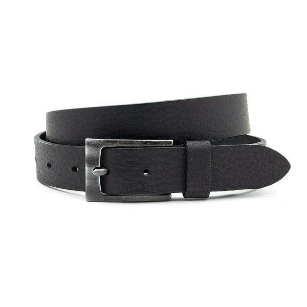Thimbly Belts Leren kinderriem zwart