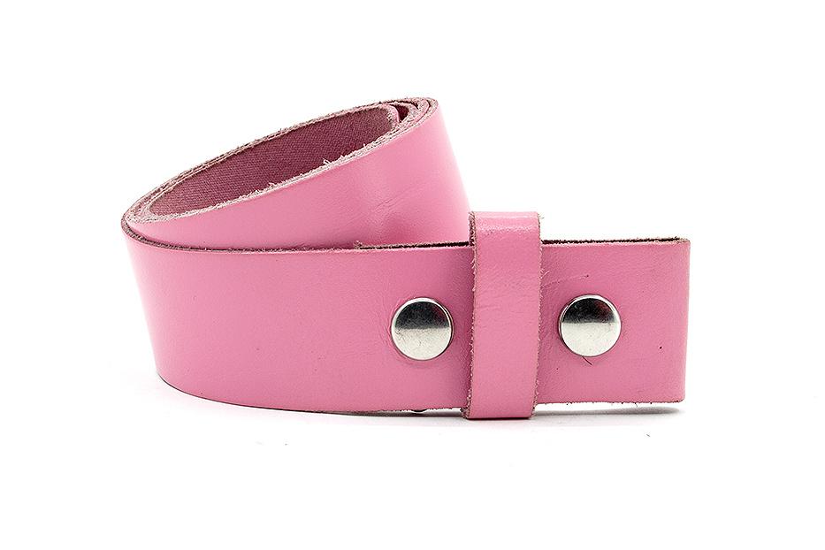 Thimbly Belts Dames riem met drukkers roze