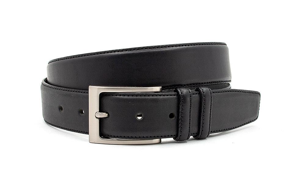 JV Belts Mooie zwarte heren riem