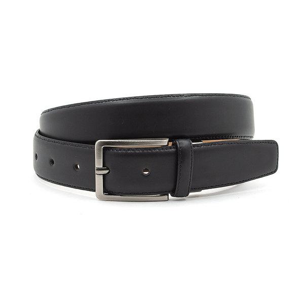 Gilmart Mooie zwarte heren riem