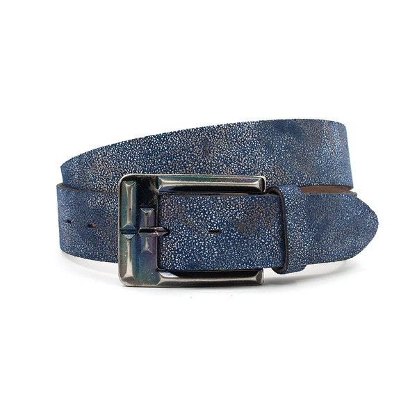 Thimbly Belts Stoere Jeans riem blauw