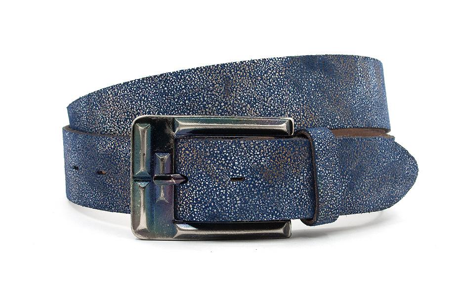 Thimbly Belts Aparte jeans riem blauw