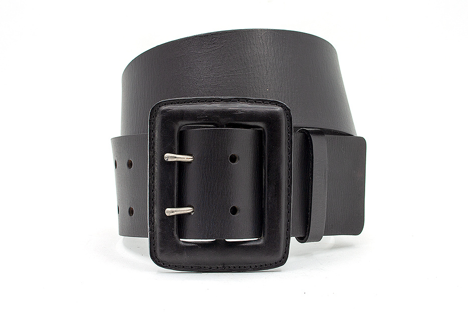 Thimbly Belts Brede heupceintuur zwart