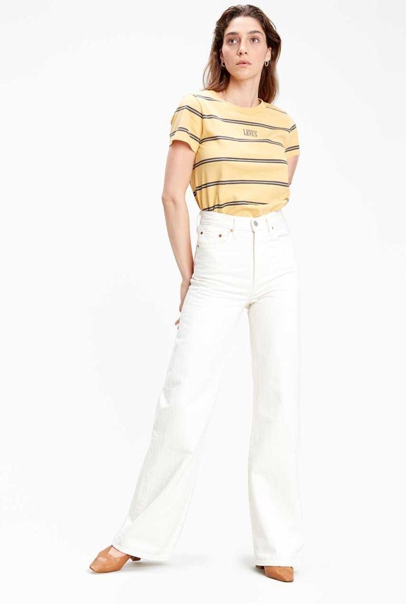 LEVIS ribcage wide leg jeans-1