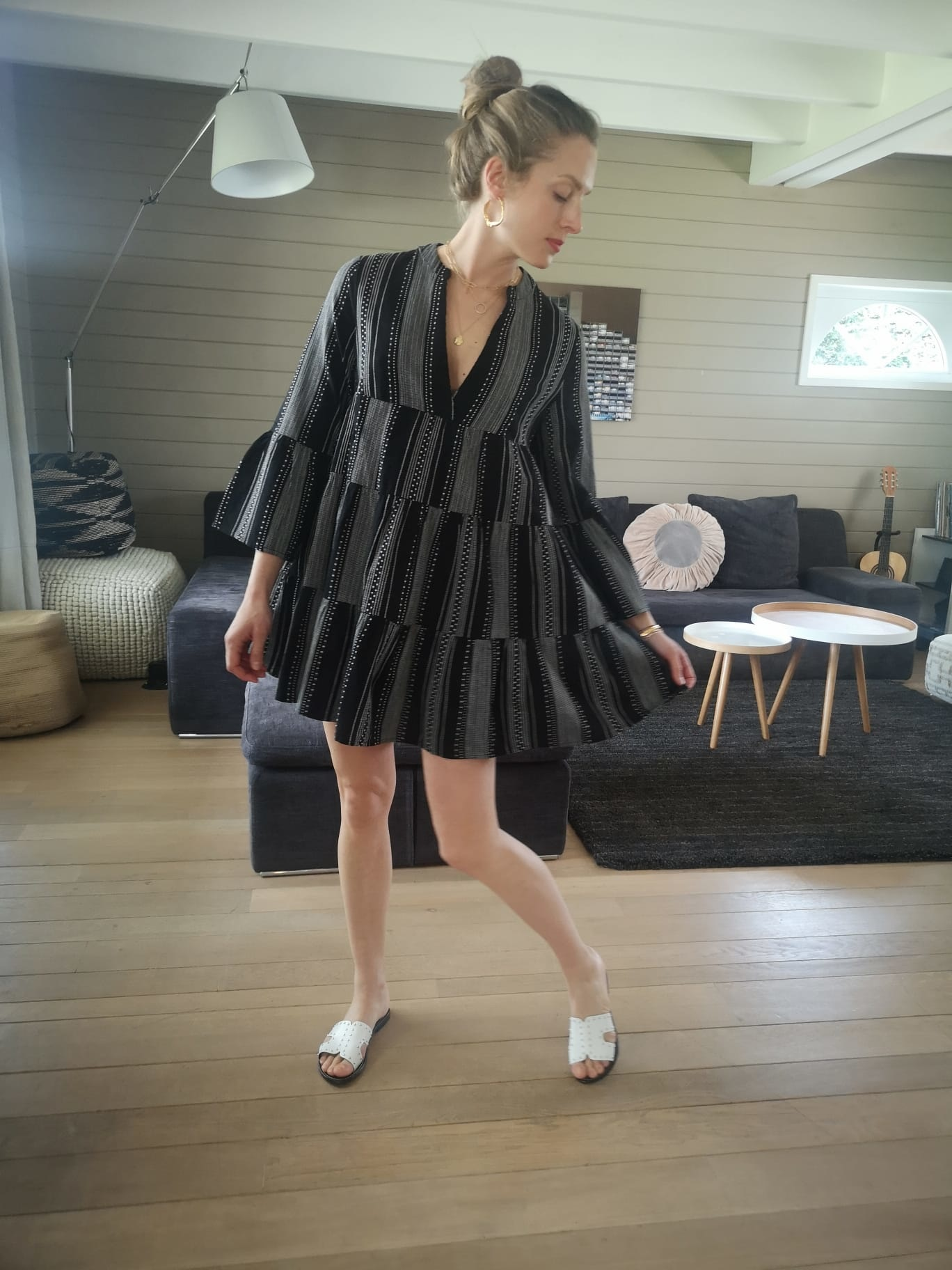PEPITES only robe noir-4