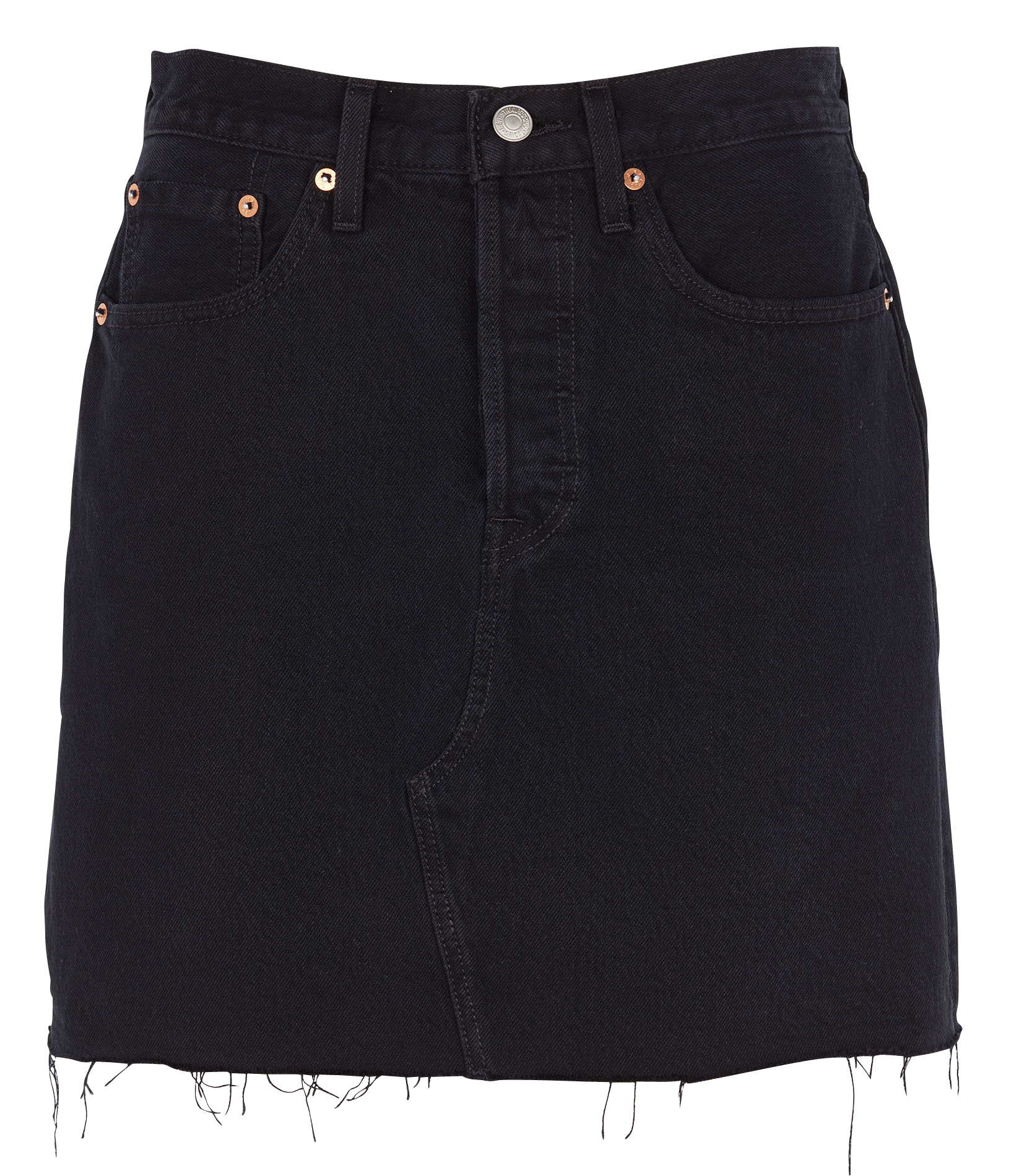 LEVIS hr decon iconic bf skirt-3