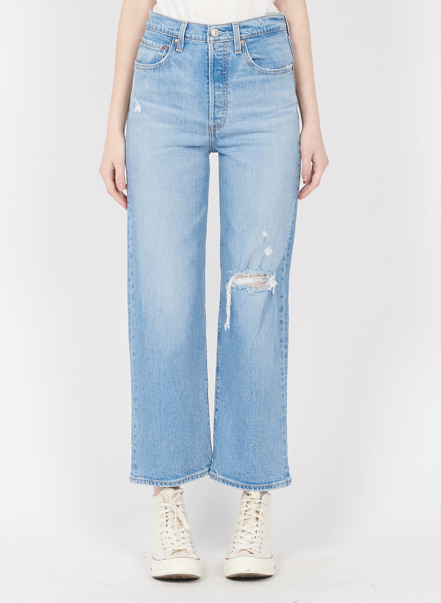 LEVIS ribcage straight ankle-1