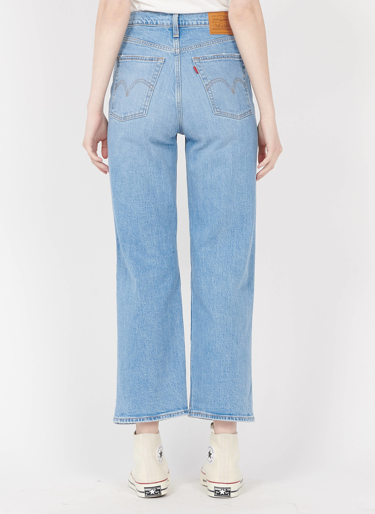 LEVIS ribcage straight ankle-2
