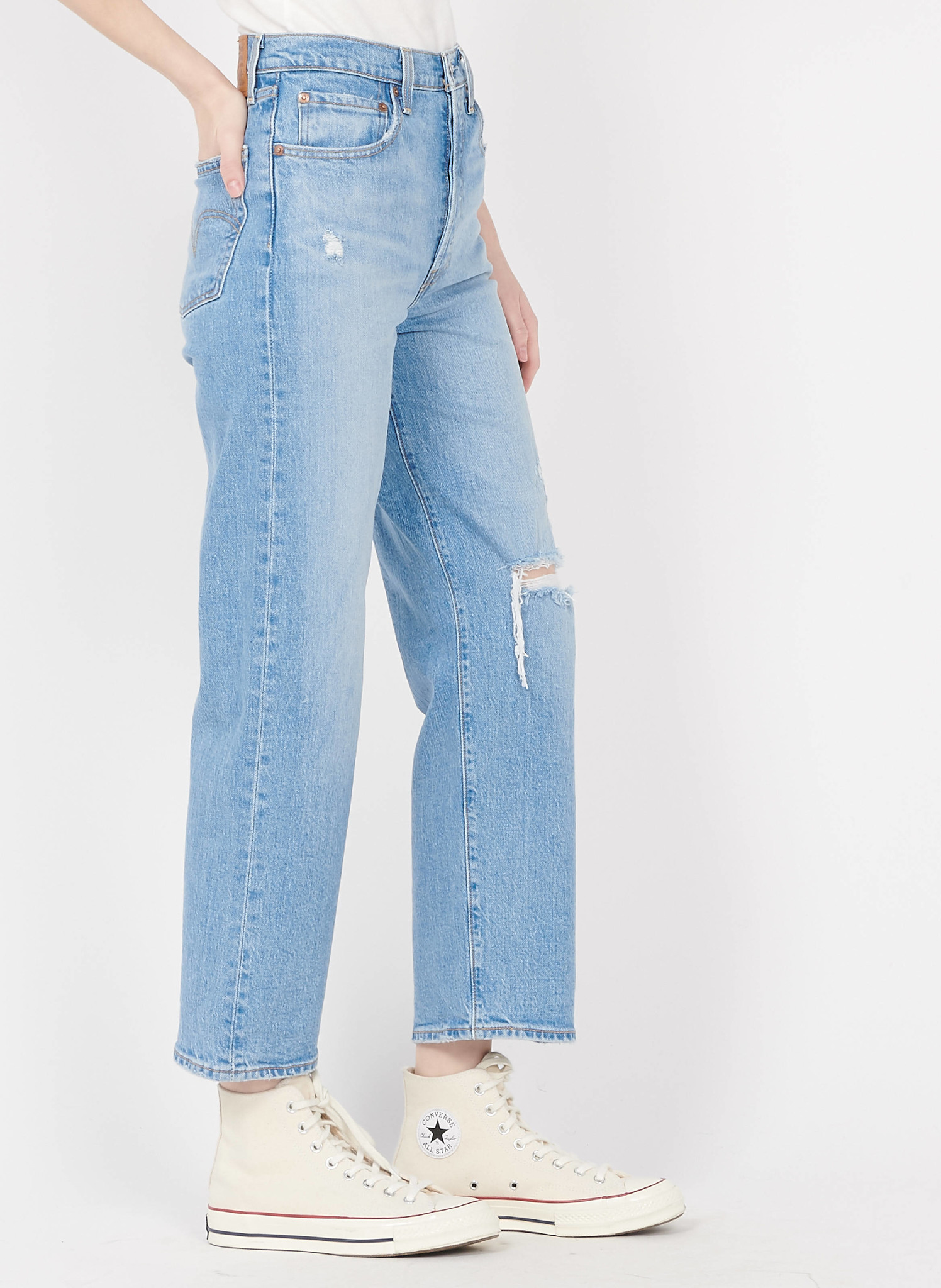 LEVIS ribcage straight ankle-3