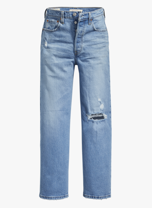 LEVIS ribcage straight ankle-4