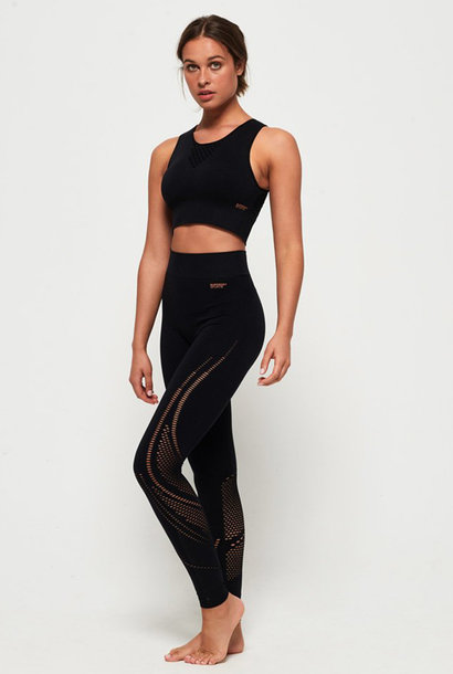 SUPERDRY studio seamless sport leggings