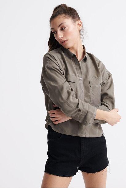SUPERDRY chemise oversize desert