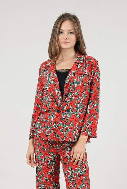 MOLLIE BRACKEN blazer poppies