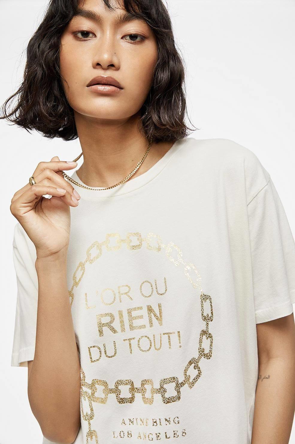 ANINE BING t-shirt ringo goldie-2