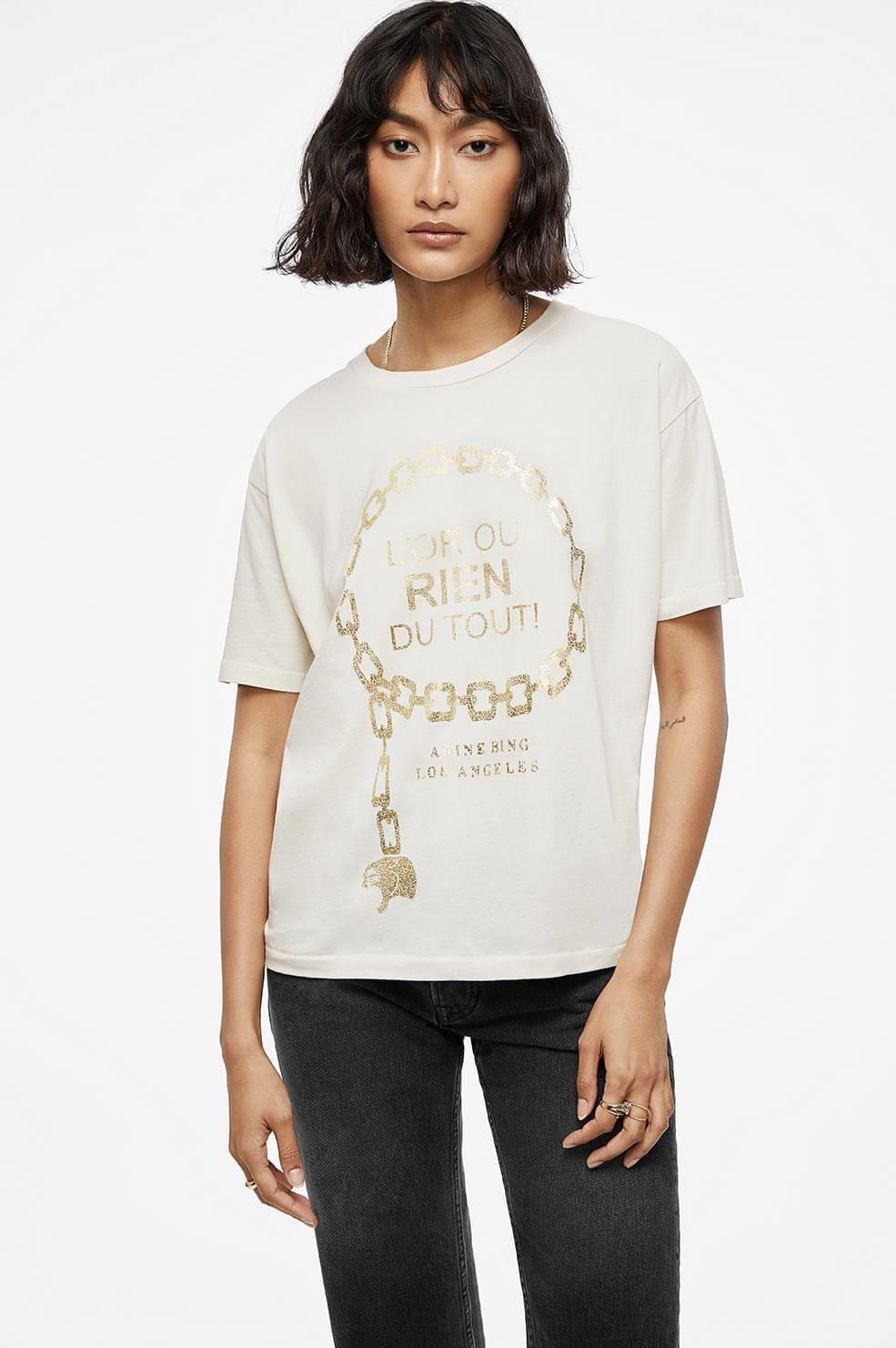 ANINE BING t-shirt ringo goldie-3