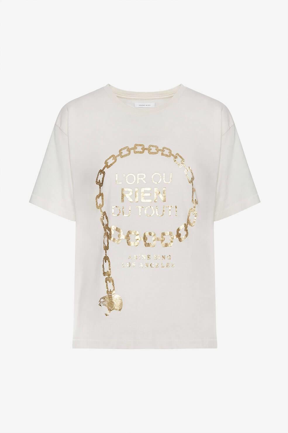 ANINE BING t-shirt ringo goldie-1