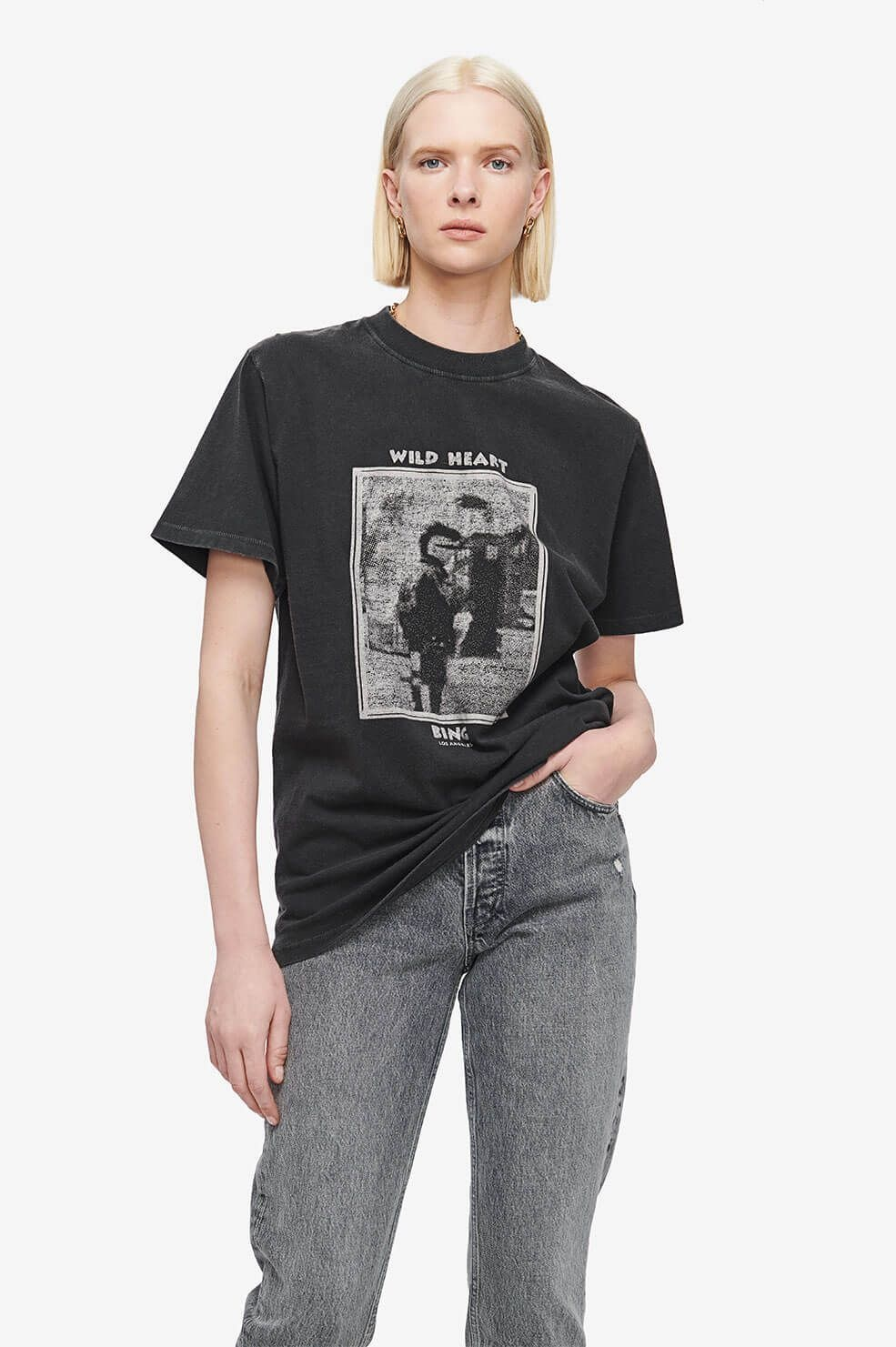 ANINE BING t-shirt mohawk-2