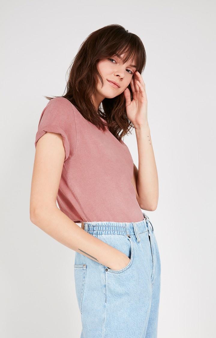 AMERICAN VINTAGE  t shirt vegiflower-1