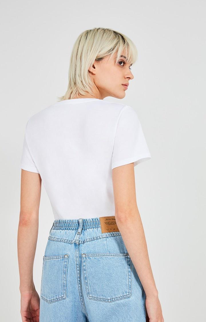 AMERICAN VINTAGE  t shirt vegiflower-6