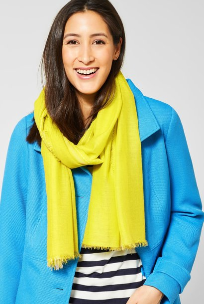 A571074 OP_SCARF WITH CONTRAST