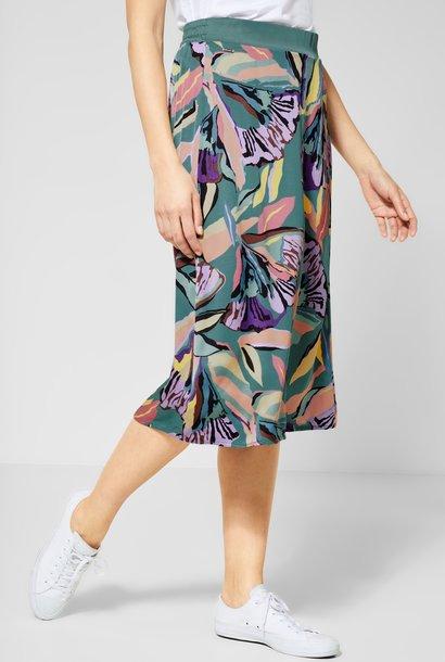 A360581 Midi skirt printed L78